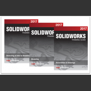 SOLIDWORKS 2017 3 Book Combo