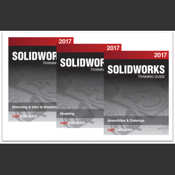 Preview of NEW SOLIDWORKS 2017 Training Guide: Sketching, Modeling, Assemblies & Drawing - Available NOW