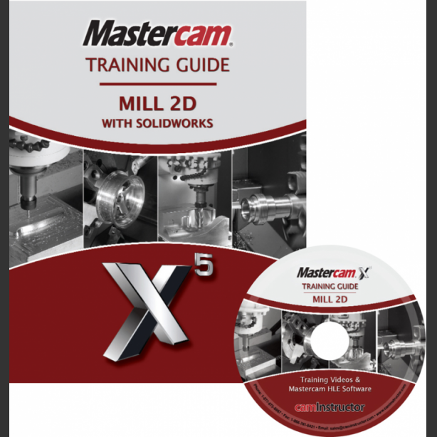 SOLIDWORKS and Mastercam X6 - Mill 2D - CamInstructor