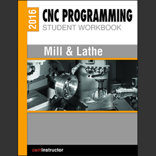 Preview of CNC Programming Workbook - Mill & Lathe