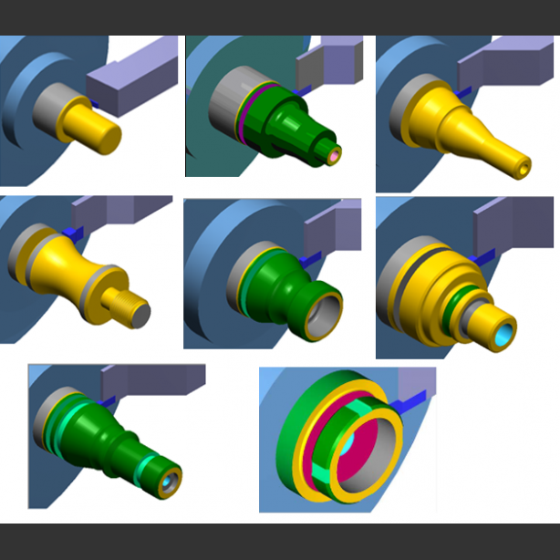 Preview of Mastercam for SOLIDWORKS - Lathe Course