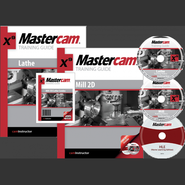 Mastercam X9 Training Guide - Mill 2D/Lathe - CamInstructor