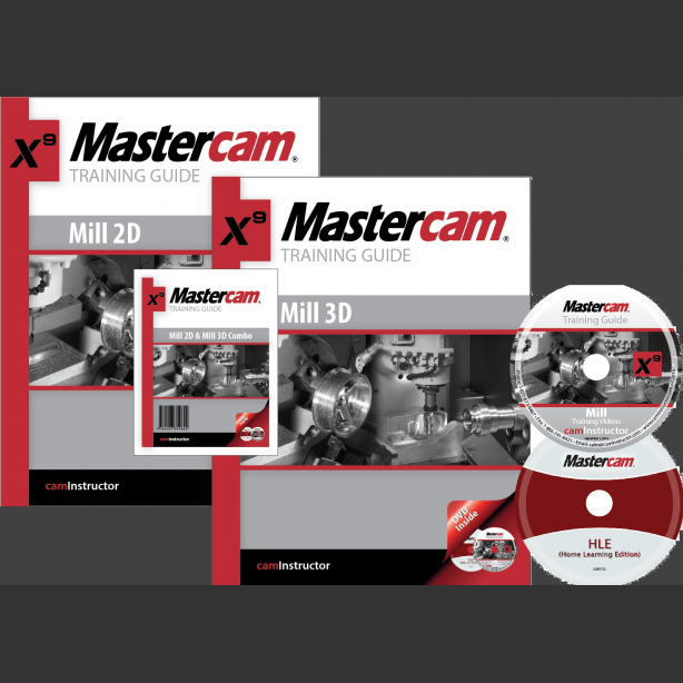 Mastercam X9 Training Guide - Mill 2D&3D - CamInstructor