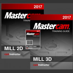 Mastercam 2017 - Mill 2D&3D