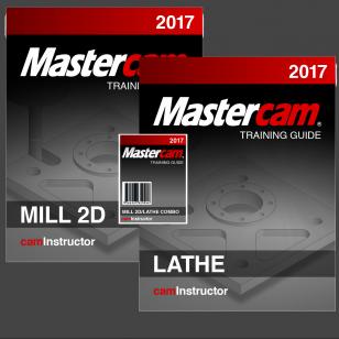 Mastercam 2017 - Mill 2D/Lathe