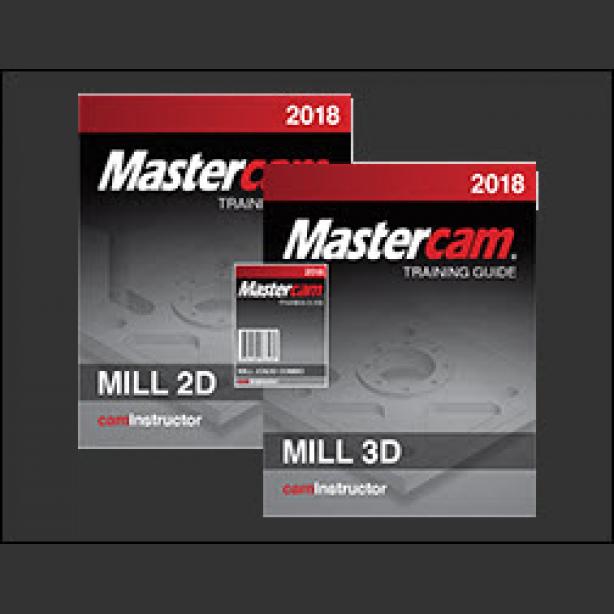 mastercam 2018 training guide mill 2d 3d caminstructor rh caminstructor com Mastercam X 8 Training Mastercam Training School