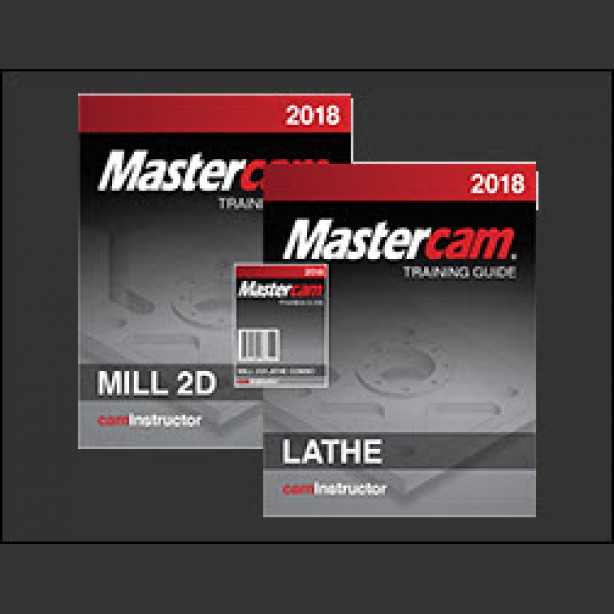 Mastercam 2018 Training Guide - Mill 2D/Lathe - CamInstructor
