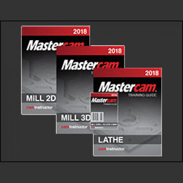 mastercam 2018 training guide mill 2d 3d lathe caminstructor rh caminstructor com Lathe Mastercam X8 Mastercam Lathe Example