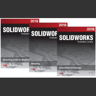 SOLIDWORKS 2018 3 Book Combo