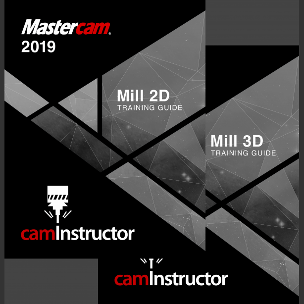 Preview of Mastercam 2019 Training Guide - Mill 2D&3D