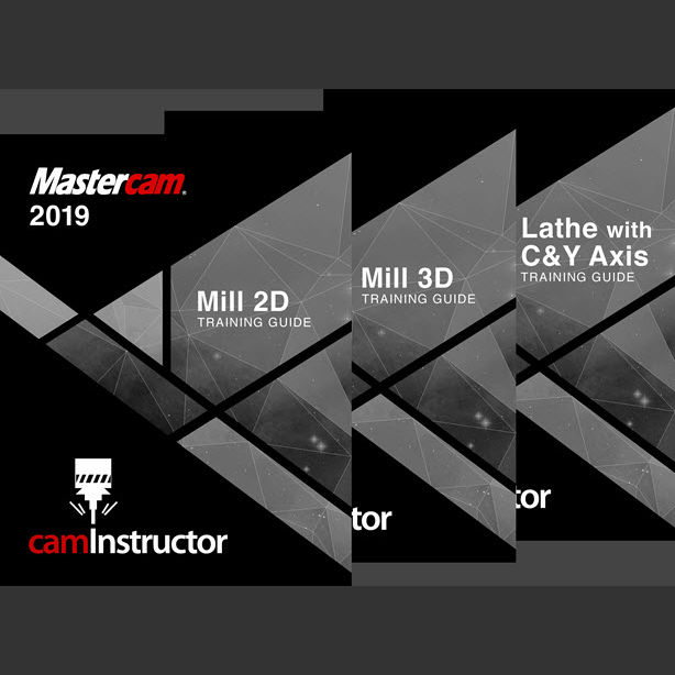 Preview of Mastercam 2019 Training Guide - Mill 2D&3D/Lathe