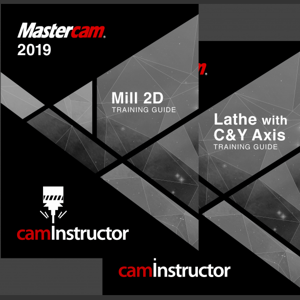 Preview of Mastercam 2019 Training Guide - Mill 2D/Lathe
