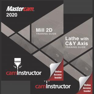 Mastercam 2020 - Mill 2D/Lathe