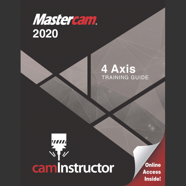 Preview of Mastercam 2020 Training Guide - 4 Axis