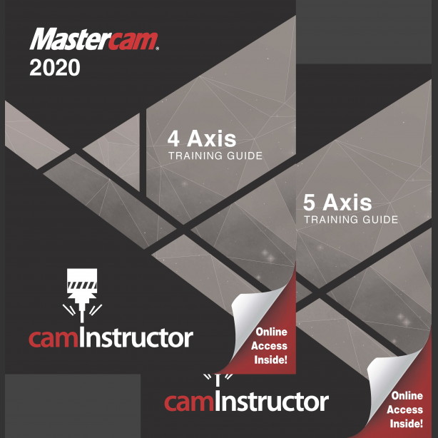 Preview of Mastercam 2020 Training Guide - 4&5 Axis