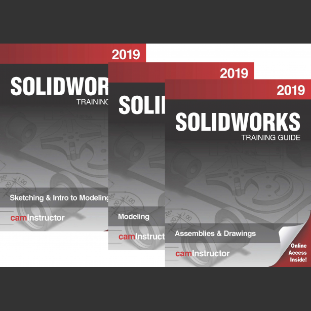 Preview of NEW SOLIDWORKS 2019 Training Guide: Sketching, Modeling, Assemblies & Drawing - Available NOW