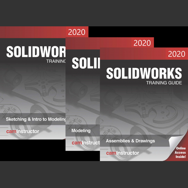 Preview of SOLIDWORKS 2020 3 Book Combo
