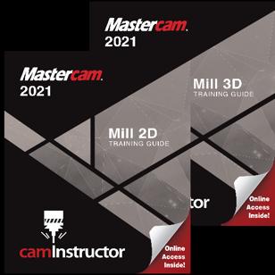 Mastercam 2021 - Mill 2D & 3D Combo