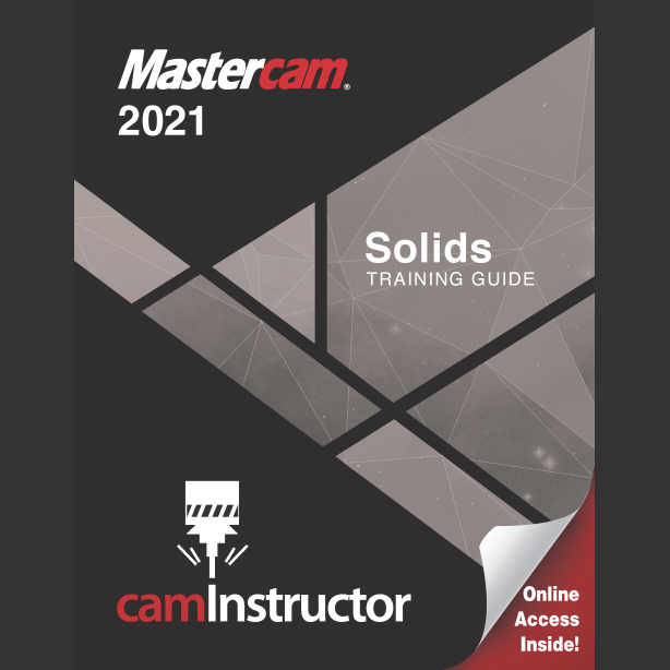 Preview of Mastercam 2021 - Solids Training Guide