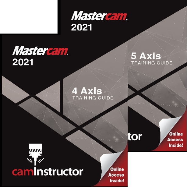Preview of Mastercam 2021 - 4&5 Axis Training Guide Combo