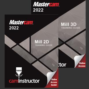 Mastercam 2022 - Mill 2D & 3D Combo